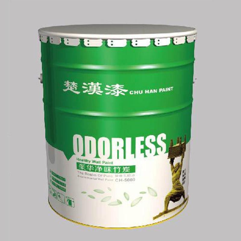 【乳胶漆厂家强烈推荐】【CH-5000】豪华净味竹炭乳胶漆