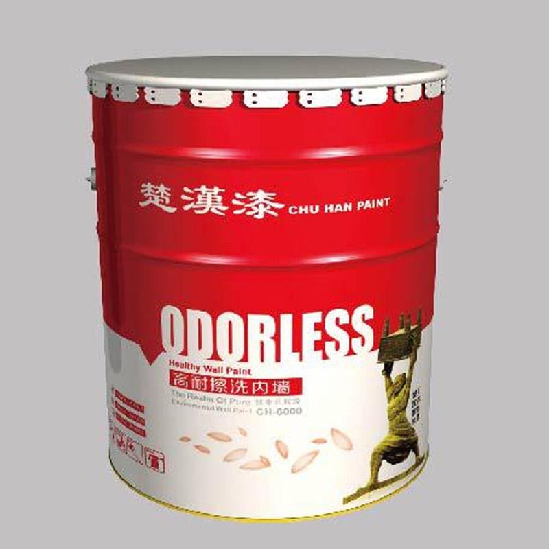 【乳胶漆厂家推荐】【CH-6000】高耐擦洗内墙乳胶漆