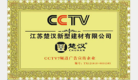 CCTV  央视广告宣传企业证书